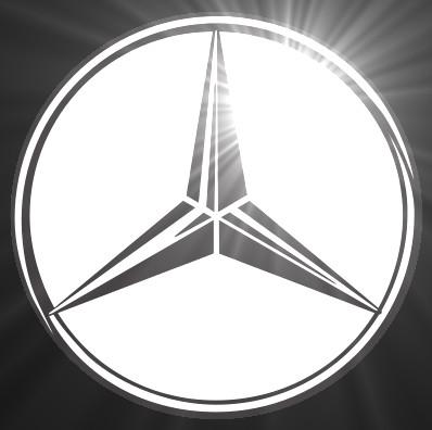 Mercedes Benz Custom Flashing Blinky Pin Animation